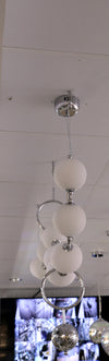 White long adjustable position modern geometric light [D8070 A-B]