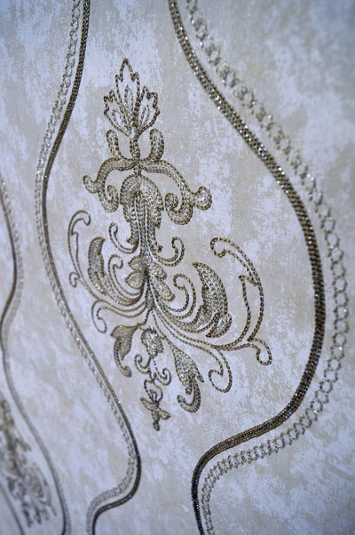 Embroidered Wallpaper Roll (1)