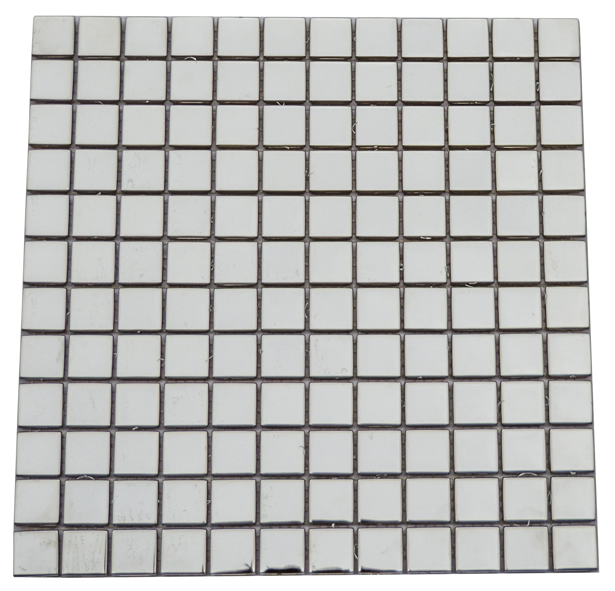 Silver Mirrored Glass Mosaic Tiles [NL23-12]