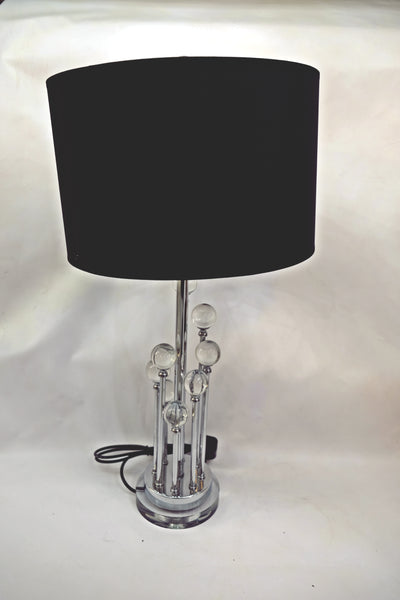 Ladder Crystallic and strong metal frame table lamp [F090S]