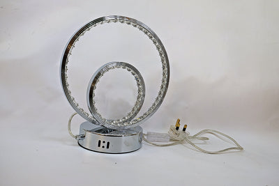 Thin crystallic ornamental light with very thin metal frame, LED [LF3577-1 | LT2800-2 | LT3450]