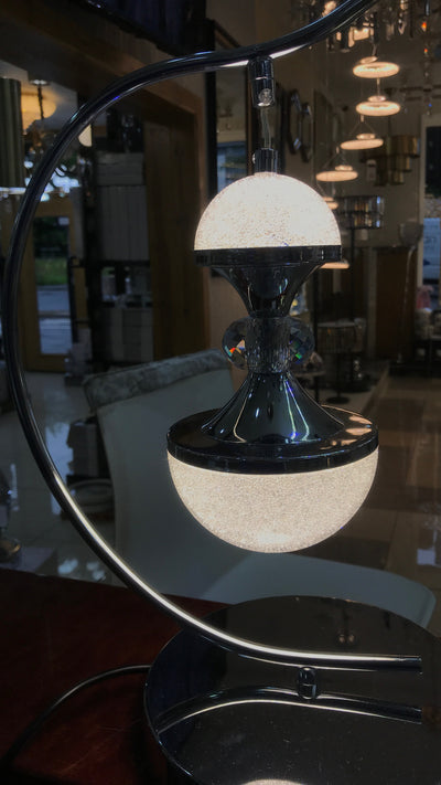 Crystallic Touch-sensitive Bedside Cabinet Lamp [T3050CH]