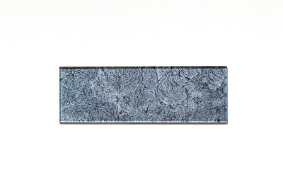 Frost Slate Glass Mosaic Tile | 1 sheet 30cmx15cm&8mm | 33 sheets 1sqm