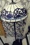 Handmade Tiffany Glass Floor Lamp (2)