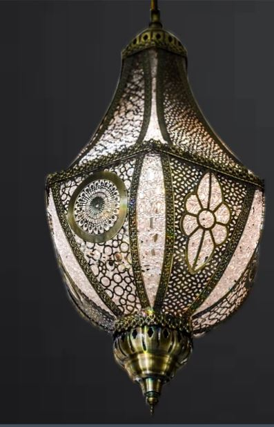Large Pyramid Pendant Turkish Pendant Light [CD1850]