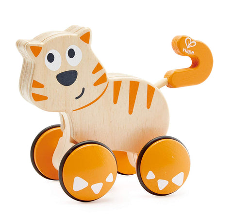 Hape Dante the Cat at WoodenToys.com