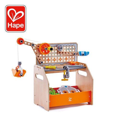 Hape Discovery Workbench at WoodenToys.com
