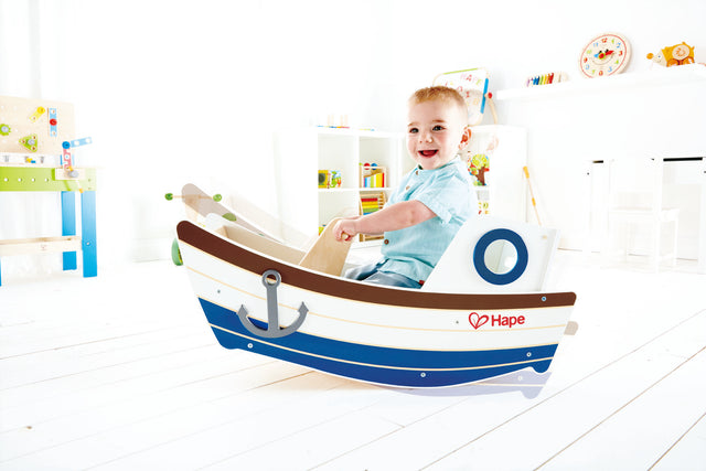 Hape High Seas Wooden Toddler Rocking Ride On