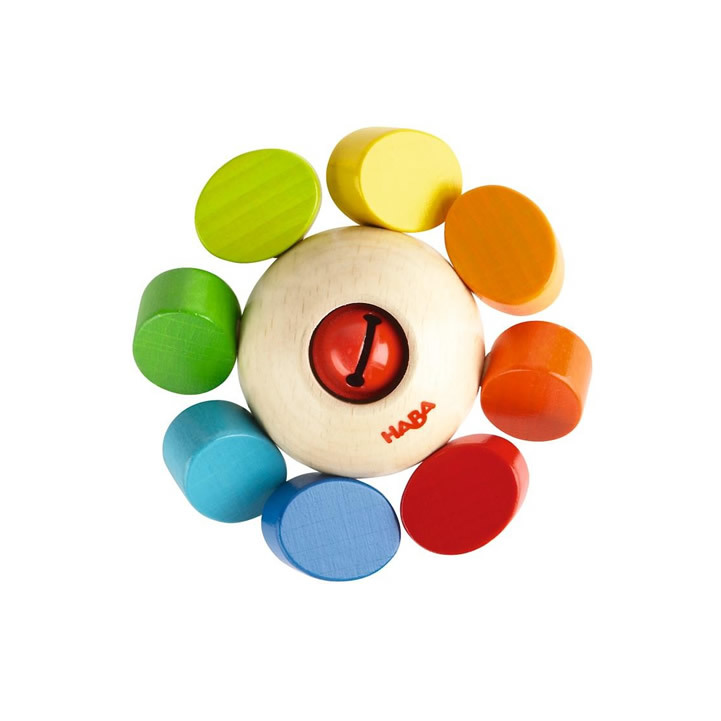 Haba Clutching Toy Whirlygig - WoodenToys.com