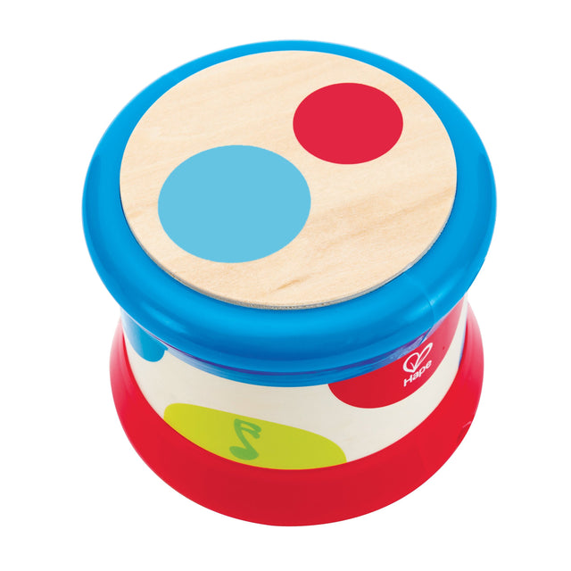 Hape Baby Drum Musical Toy - WoodenToys.com