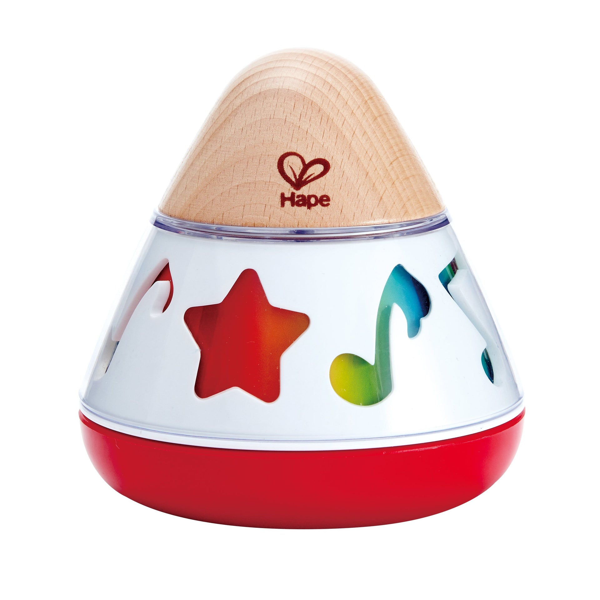 Hape Rotating Music Box Baby Toy - WoodenToys.com