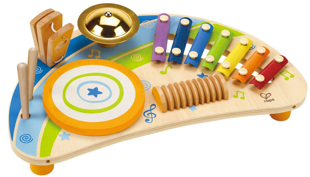 Hape Mighty Mini Band Wooden Percussion Instrument - WoodenToys.com