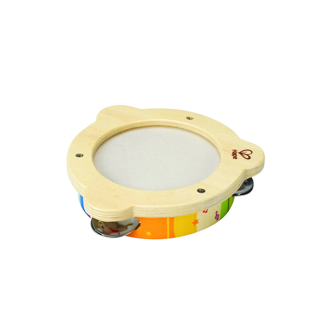 Hape Mr. Tambourine Kid's Wooden Instrument - WoodenToys.com