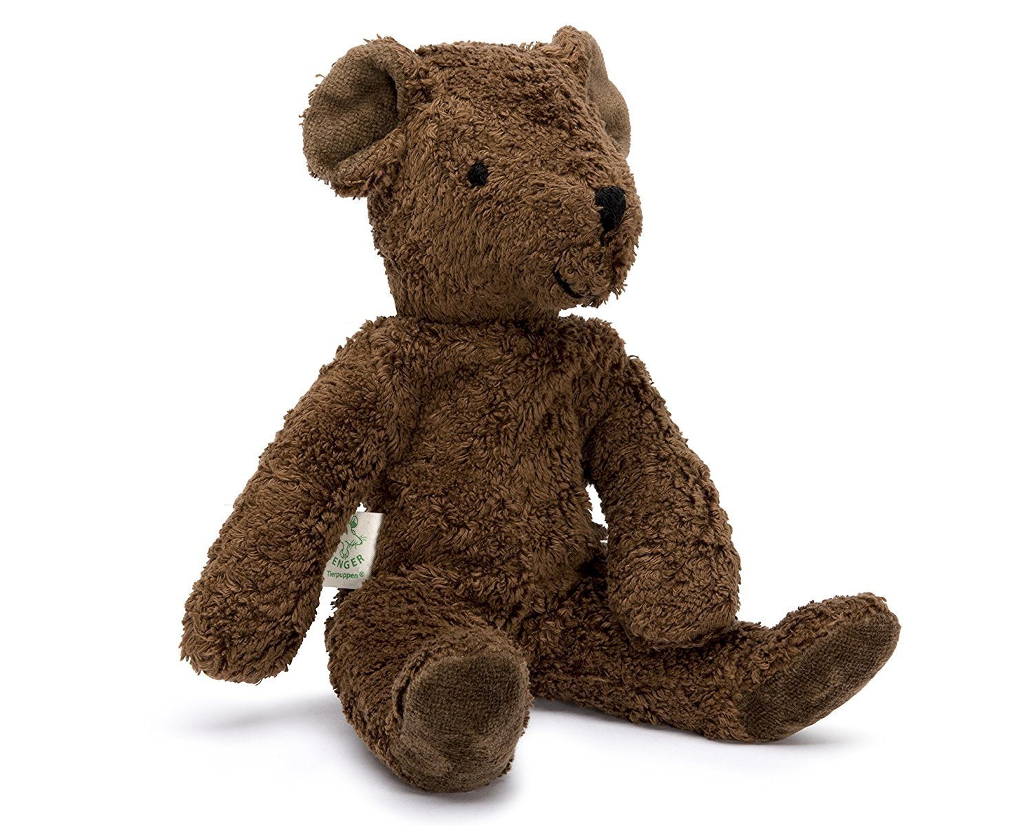 Senger Tierpuppen Brown Teddy Bear - WoodenToys.com