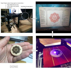 Intelligent Laser Engraving Machine