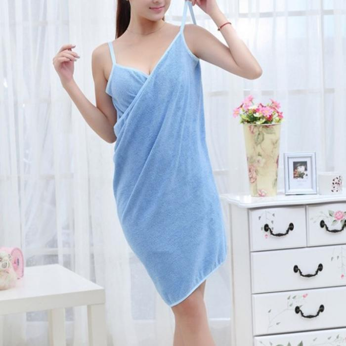 Audrey Wearable Towel Dress