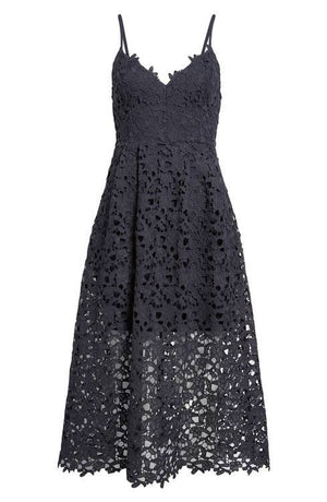 Adele - Lace Floral Dress