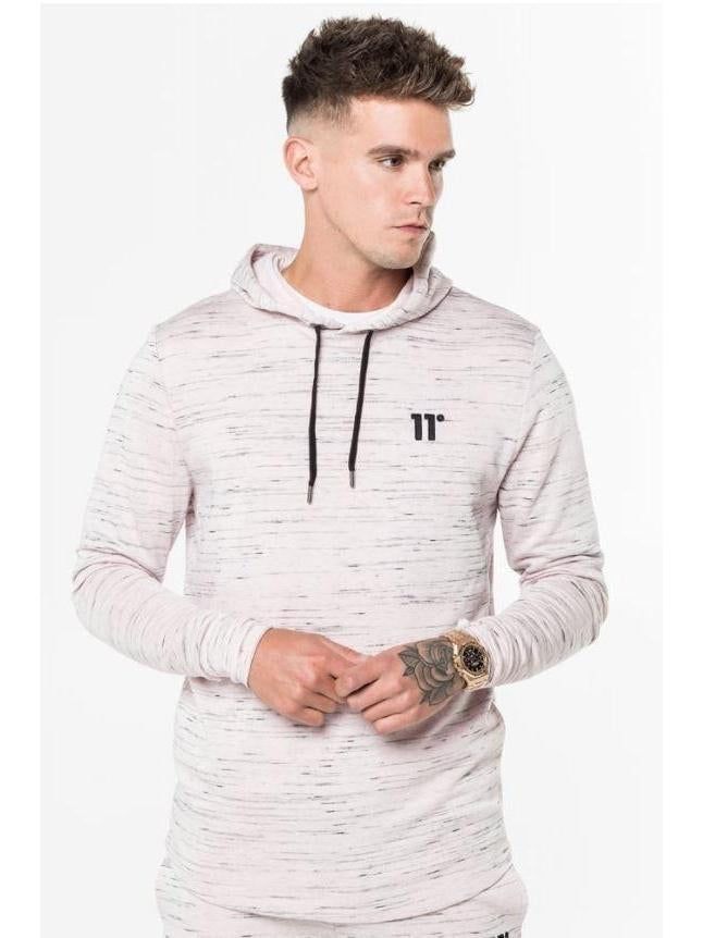 Composite Curved Hem Pull Over Hoodie