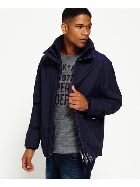 Tech Hood Pop Zip Windcheater