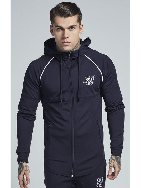 Zonal Zip Through Track Top