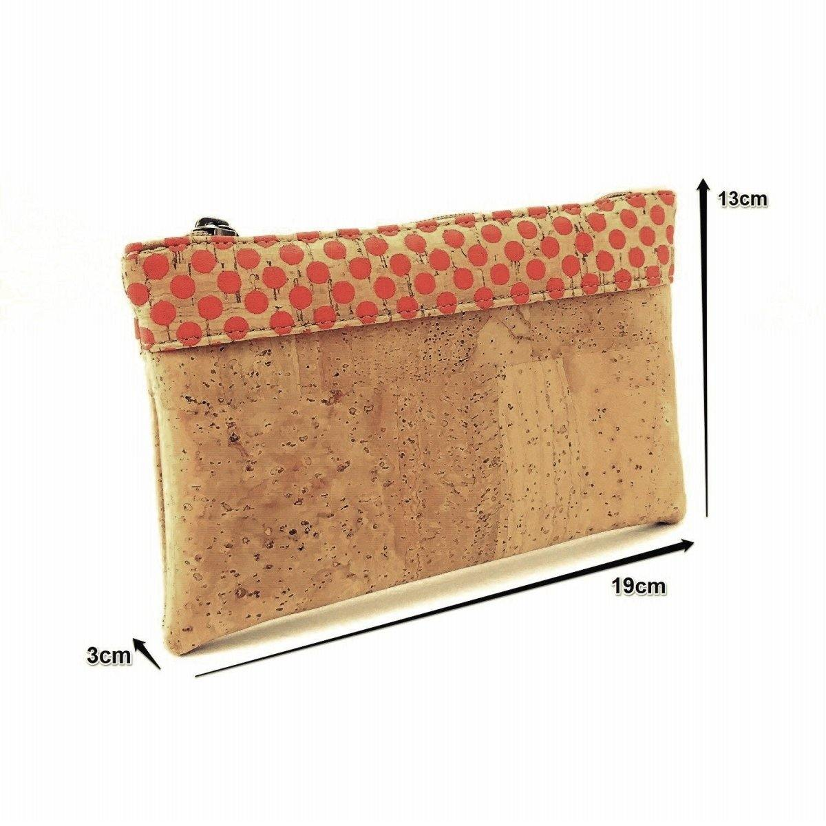 Cork Bi-colour Cosmetic Bag - Moddanio