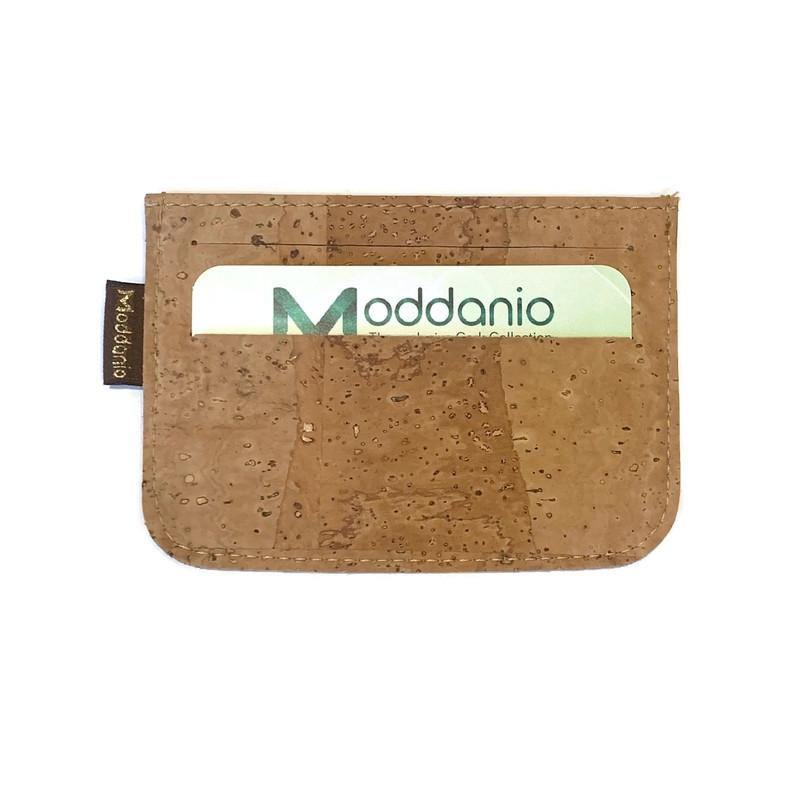 Cork Card Holder Slim - Moddanio