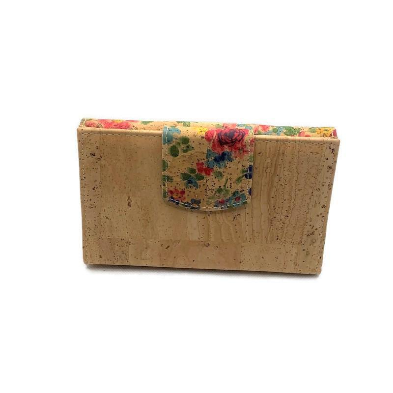 Cork Clip Purse Large - Moddanio