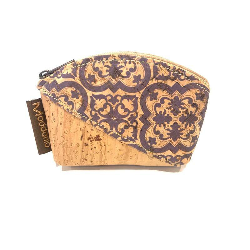 Cork Mini Curved Coin Purse - Moddanio