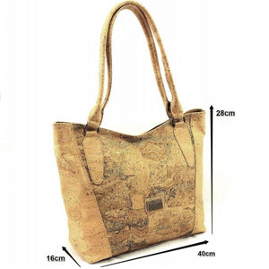 Cork Shoulder Bag Savana Prestige - Moddanio