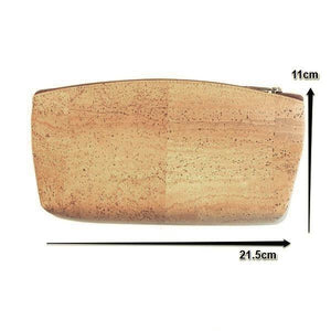Cork Toiletry and Cosmetic Bag - Moddanio