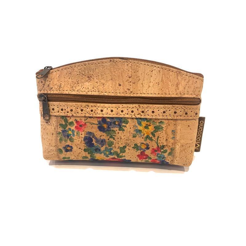 Cork Toiletry Bag Curved - Moddanio