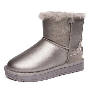 High Quality Keep Feet Warm Winter Shoes Platform Sole Women's Snow Boots