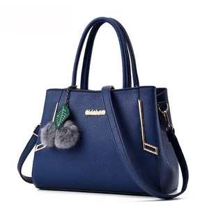 New Arrival 2018 Women's Fashion Handbags Pu Leather Shoulder Lady Bags Messenger Big Leisure Handbag for Women