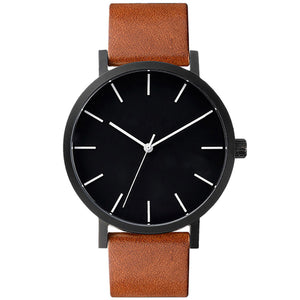 Women's Or Men's Casual Simple Quartz Analog Watch Band Wrist Watches