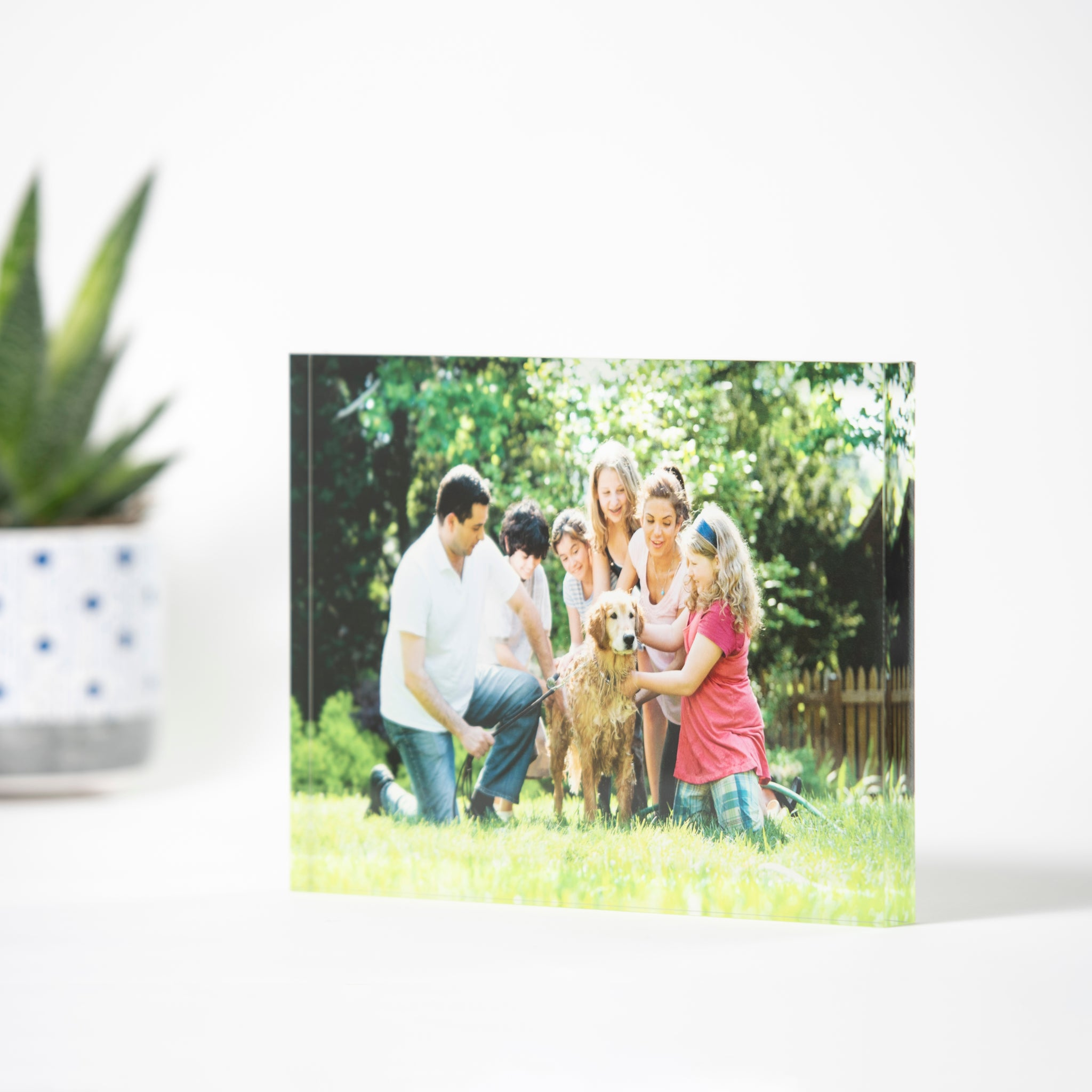 Pic Love™ Custom Acrylic Photo Block