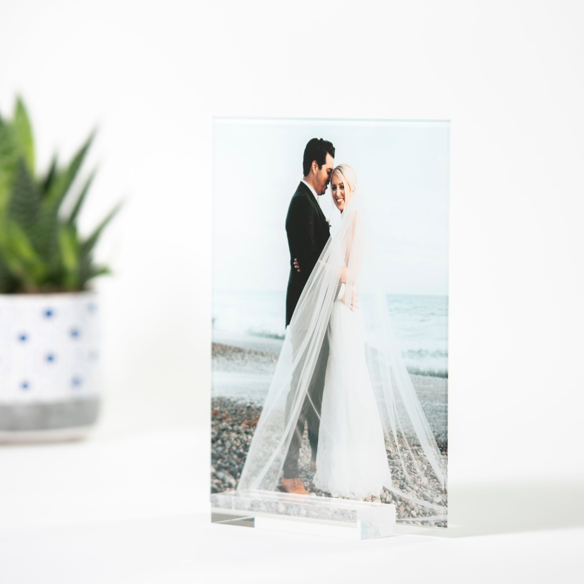 Pic Love™ Custom Acrylic Photo with Stand