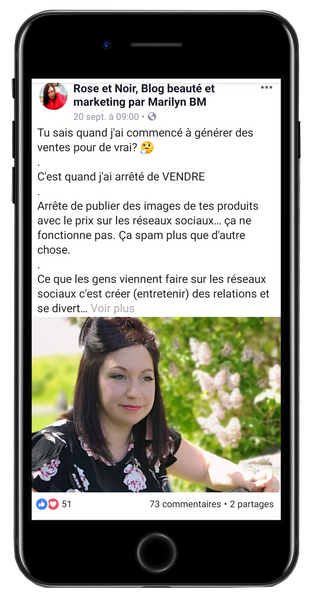 publication Facebook