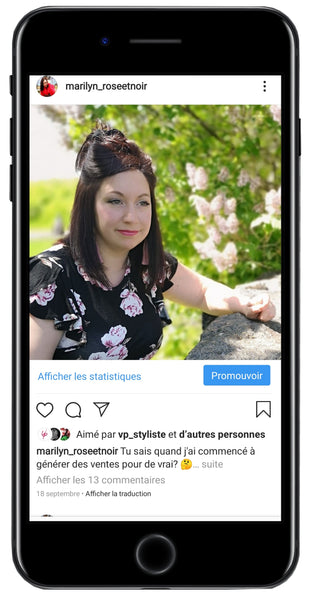exemple publication instagram