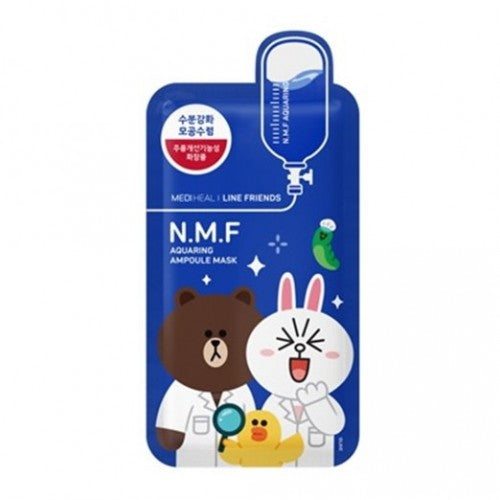 MEDIHEAL Line Friends Aquaring Ampoule Mask