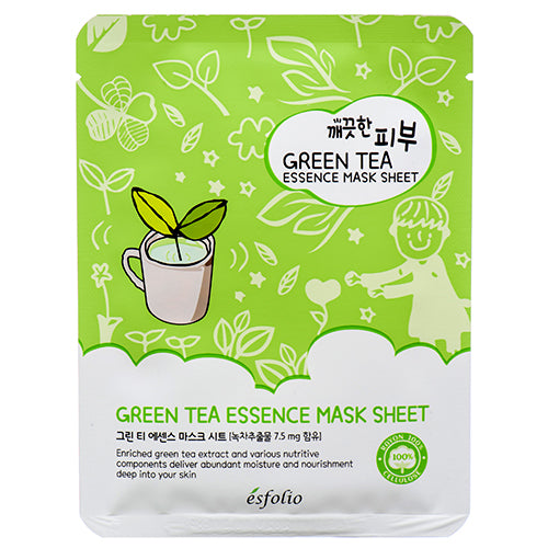 Esfolio Pure Skin Green Tea Essence Mask