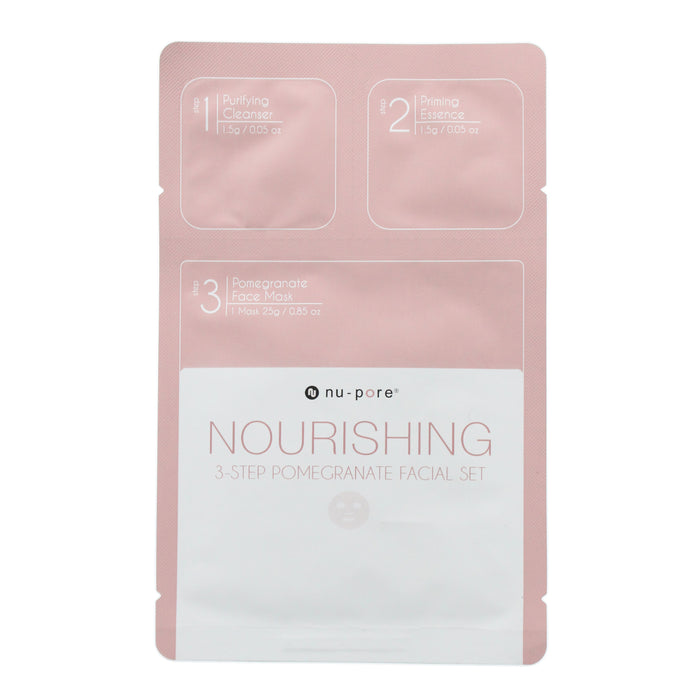 Nu Pore 3-in-1 Nourishing Face Mask Set