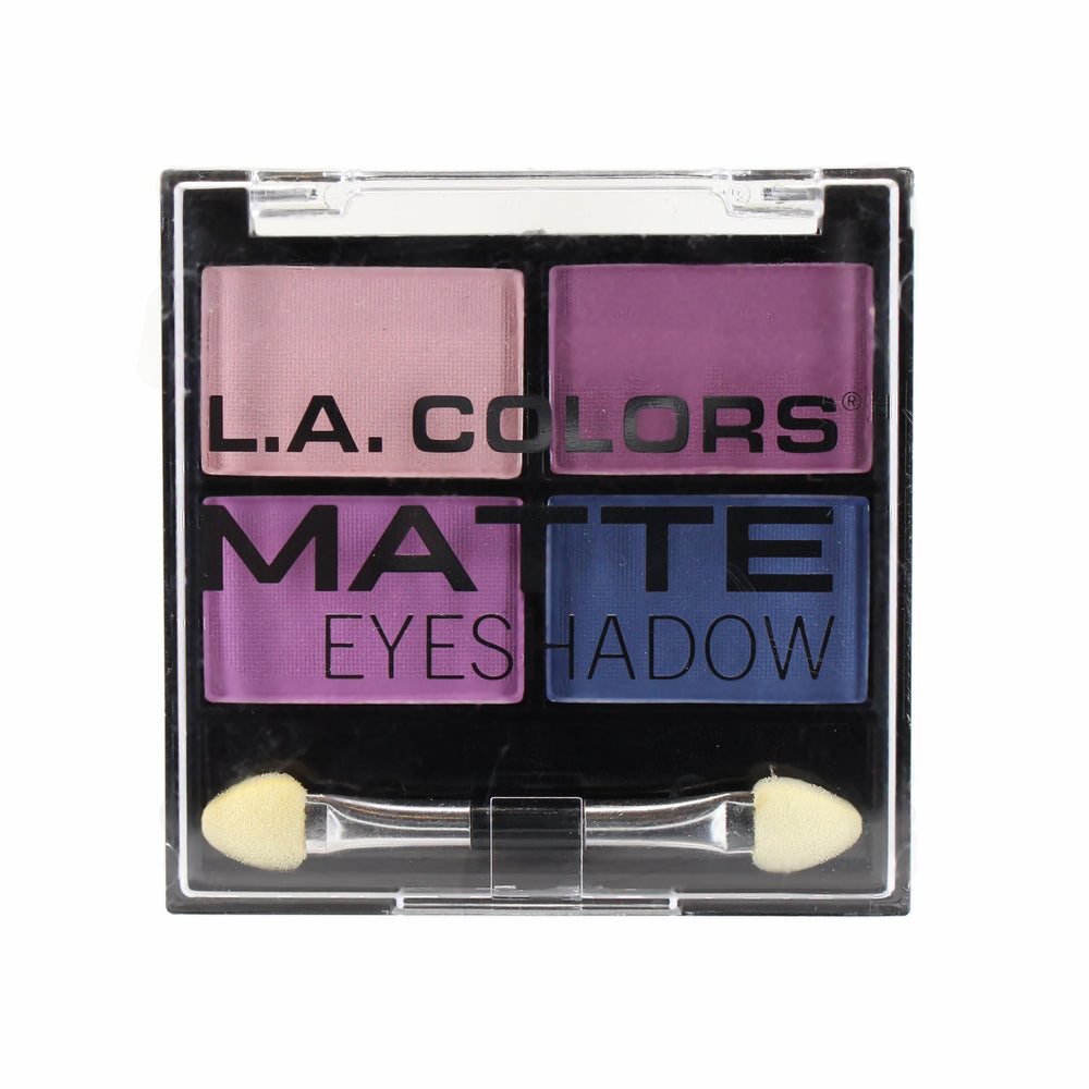L.A. Colors Matte Eyeshadow Quad - Mattenificent