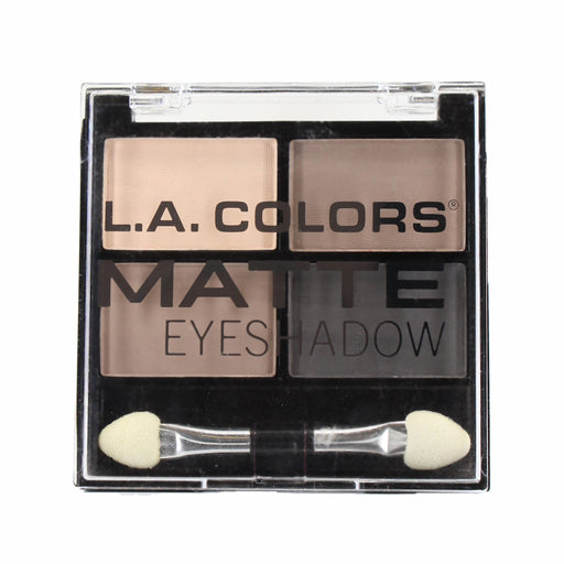 L.A. Colors Matte Eyeshadow Quad - Matteriffic