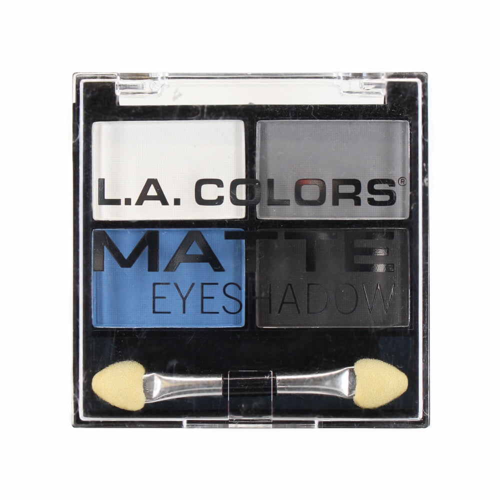 L.A. Colors Matte Eyeshadow Quad - Matt-O-Rama