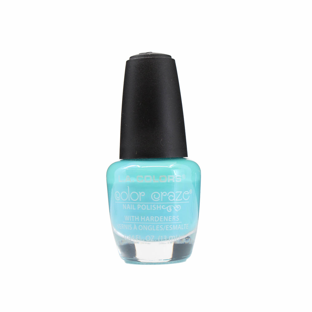 L.A. Colors Color Craze Nail Polish with Hardeners