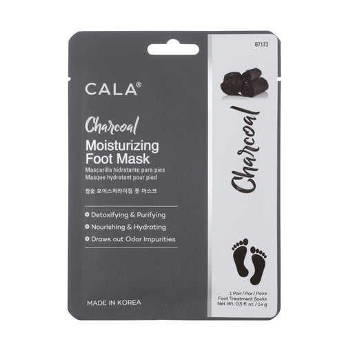 Cala Charcoal Moisturizing Foot Masks