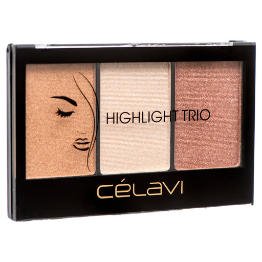 Celavi Highlighter Trio Face Palette