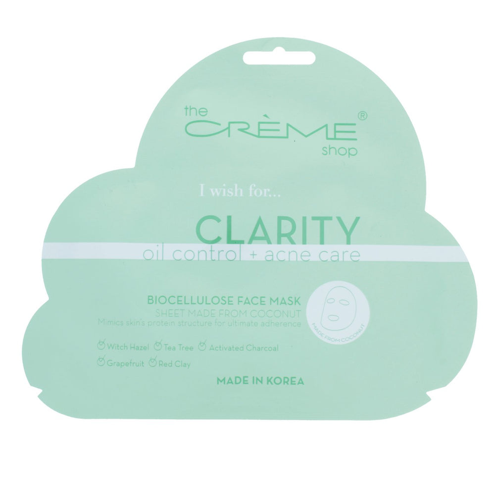The Creme Shop Biocellulose Face Mask - Clarity