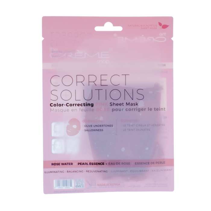 The Creme Shop Correct Solutions - Pink Sheet Mask