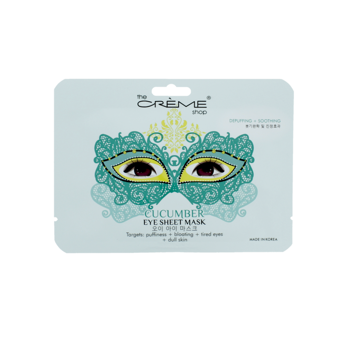 The Creme Shop Cucumber Masquerade Eye Sheet Mask